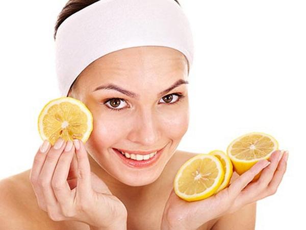 Mặt nạ dưỡng da, trị mụn từ chanh